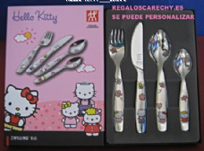 Cubierto HELLO KITTY